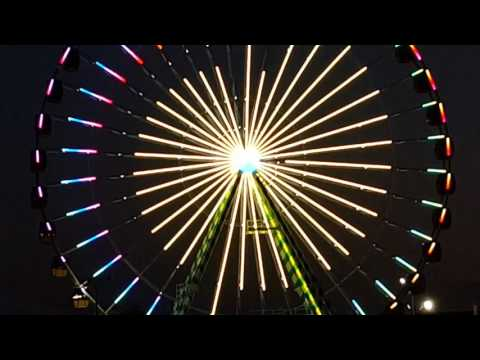 USA's Largest traveling Ferris Wheel finally spinning, midway through Florida State Fair 2017