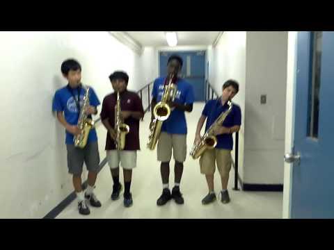 Thrift Shop-Saxophone Quartet