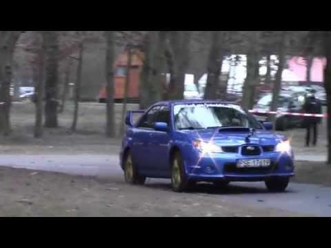 VII SuperOes Tor Poznań 2014 - Piotr Trojanek - Subaru Impreza STi