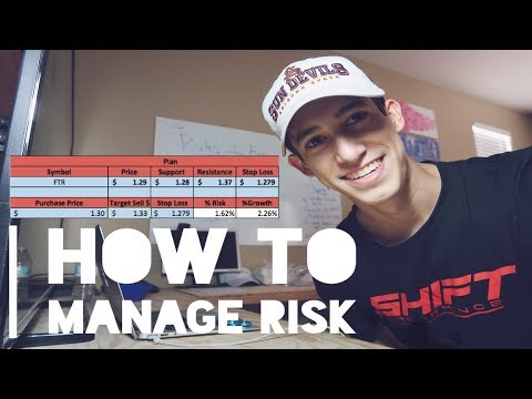 Excel Files | How To Manage Risk Trading Penny Stocks