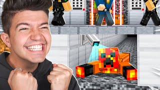 5 Most Extreme Minecraft PRISON ESCAPES!