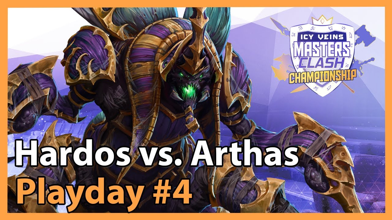 Hardos vs. Arthas - Masters Clash - Heroes of the Storm 2021