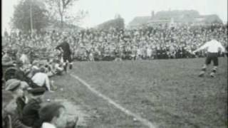 Voetbalwedstrijd Nederland - Duitsland (1923)