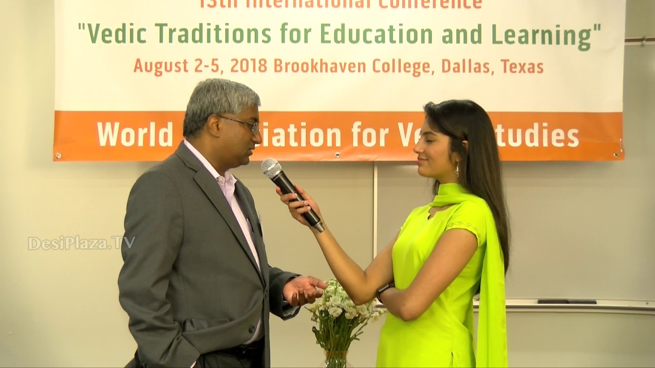 Media Byte / Interview with   Mr Kalyan Viswanathan at WAVES  Dallas, Texas - 2018.