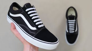 HOW TO BAR LACE VANS OLD SKOOLS 👟🔥