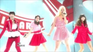 Sistar - Shady Girl, 씨스타 - 가식걸, Music Core 20100828