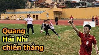 Quang Hải Nhí vô địch Thử Thách Bóng Đá của Duy Mạnh Đức Huy ĐT Việt Nam mùa Asian CUP 2019