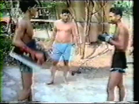 Muay Thai Technique from legend Poot Lor Lek