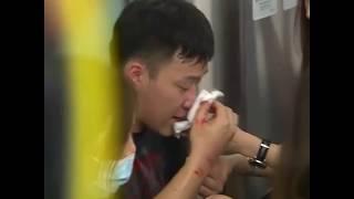 香港元朗7.21暴力事件现场画面