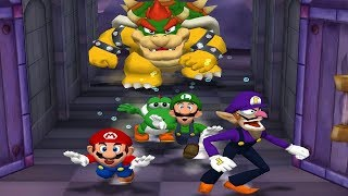 Mario Party 5 Mini Games - Mario Vs Yoshi Vs Luigi Vs Waluigi (Master CPU)