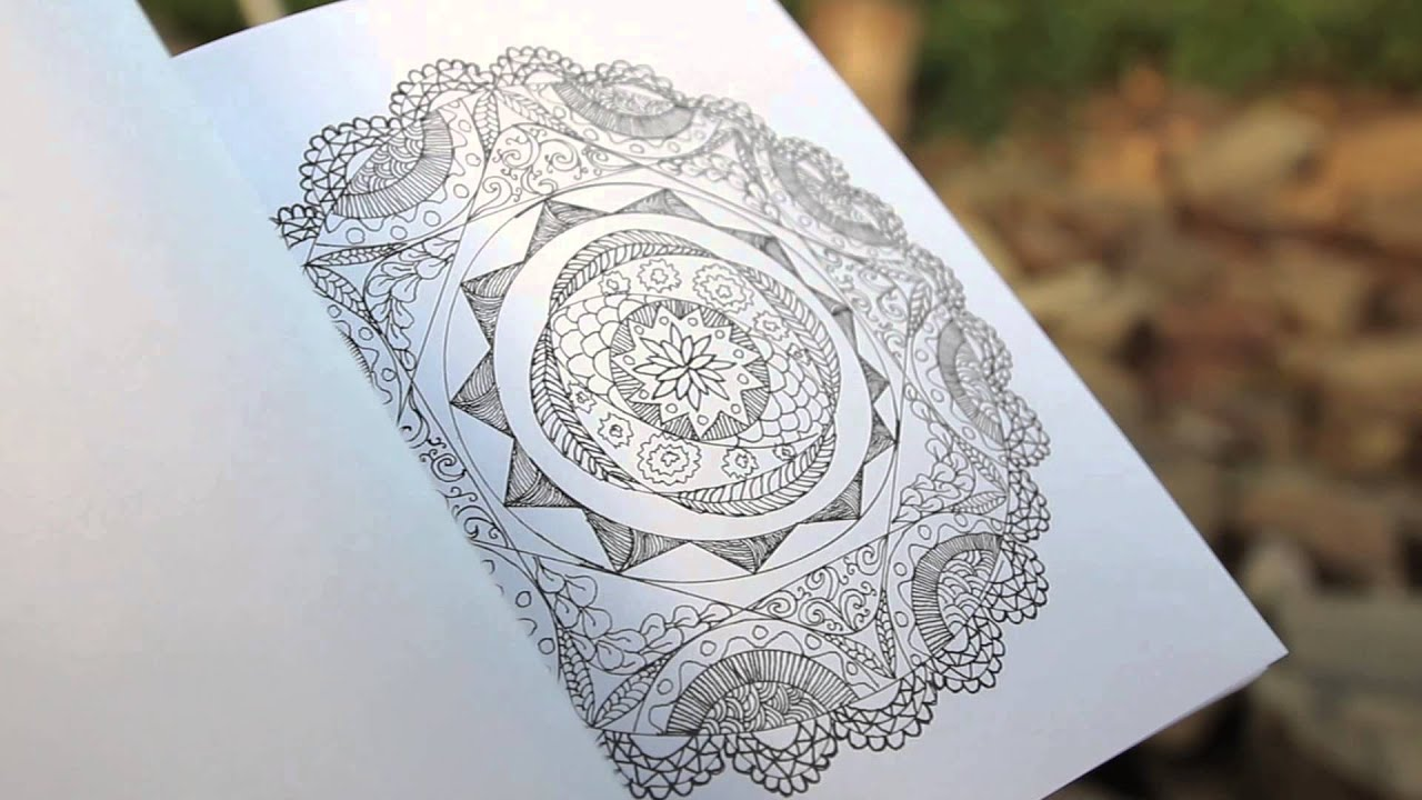 The Artful Mandala Coloring Book