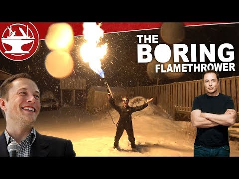 THE BORING FLAMETHROWER TEST!