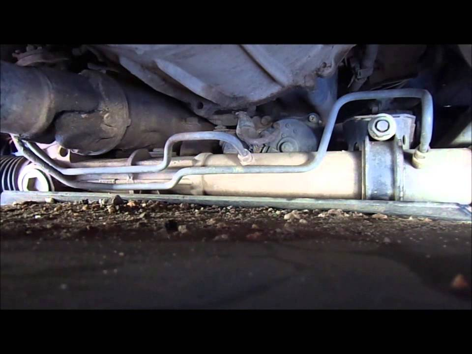 2001 Tacoma Steering Rack Bushings Youtube