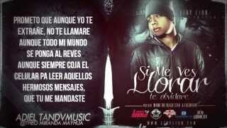 "Eiby Lion - ""Si Me Ves Llorar, Te Olvidaré"" (Letra) (Prod. Manu The Black Star & Dj Lacarfary) 2013"