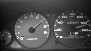 9000rpm B16B EG 0 to 130 mph comptech header mugen exhaust integra air box