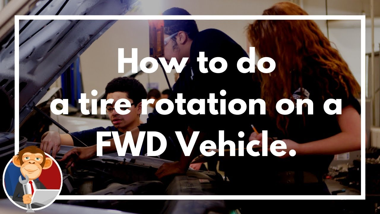 How To Rotate My Tires On A Front Wheel Drive Car Educated Grease
