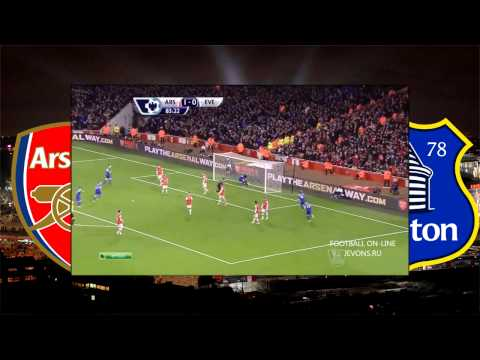 Arsenal vs Everton 1-1 All Goals and Full Highlights HD 8.12.2013