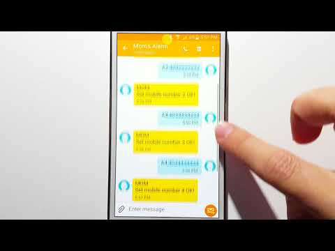 How to add change phone numbers in emergency contacts list