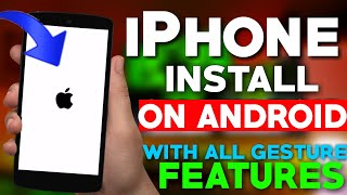 Install Original iPhone X System Update On Any Android || iOS Feature Install On Android