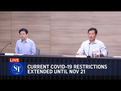 Singapore's current Covid-19 restrictions extended until Nov 21