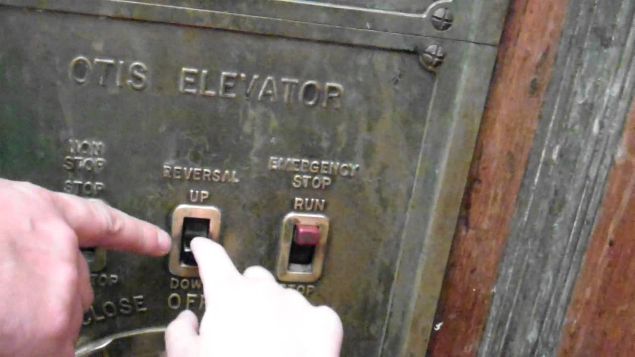 antique otis signal control micro drive manually controlled traction rh youtube com how do manually operated elevators work manually operated elevators in portland or