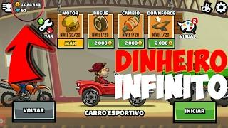 HILL CLIMB RACING 2 MOD DO DINHEIRO INFINITO (ATUALIZADO 2017)