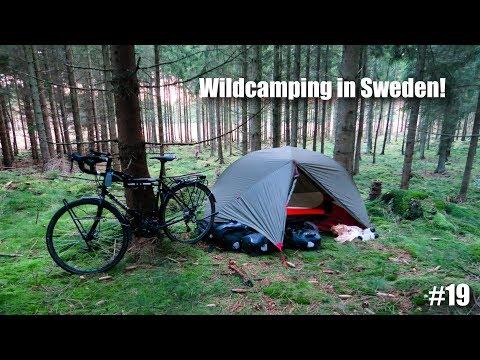 Wildcamping in Sweden!   European Bike Tour #19