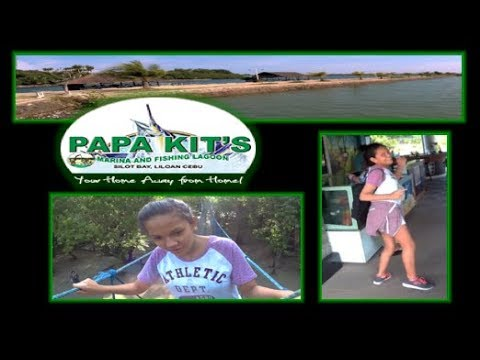 Philippines Fishing Lagoon & Marina - Papa Kit's Liloan City