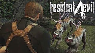 RESIDENT EVIL 4 #13 - Labirinto Dos Lobos Tem Muito Lobos (PC Pro Gameplay em Inglês)
