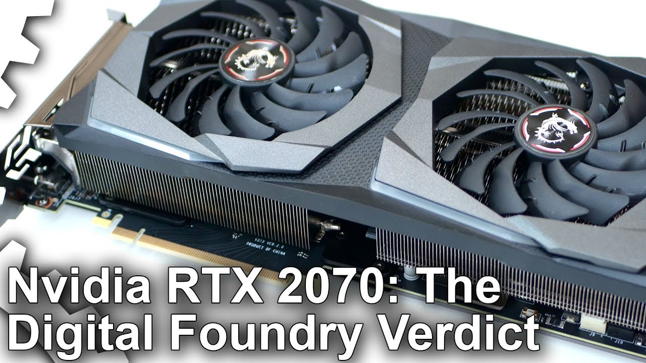 Nvidia GeForce RTX 2070 Review: The Digital Foundry Verdict