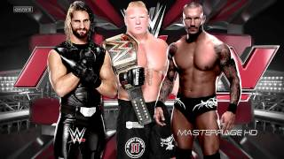 """2014: WWE RAW 13th & New Theme Song: """"The Night Remix 2014"""" + Download Link (HD)"""