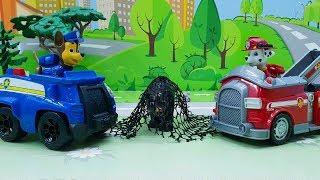 Зоопарк - видео с игрушками щенячий патруль для самых маленьких детей! Новые игрушечные мультфильмы.