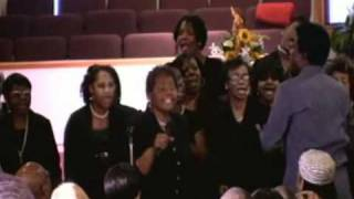 "The Walker Family Choir singing ""On My Way To Heaven"""