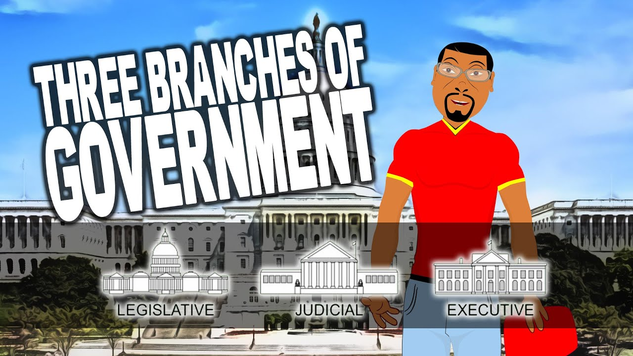 what are the three branches of government 3 branches of government for kids cartoon youtube