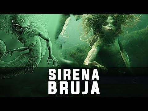 LA SIRENA BRUJA, La Leyenda de The Storm Hag, sirenas reales sirena encontrada captada increible