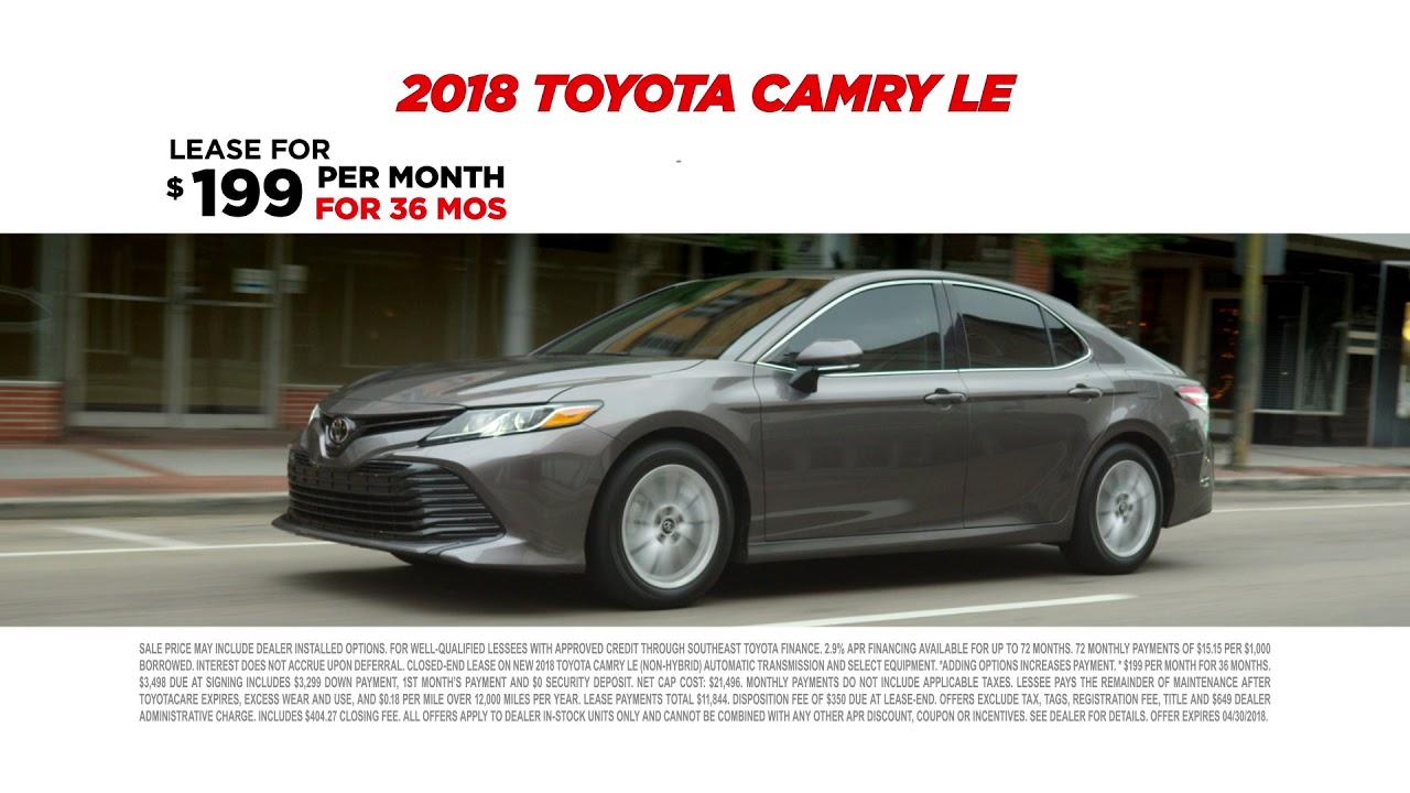 2018 Toyota Camry | Hendrick Toyota North Charleston