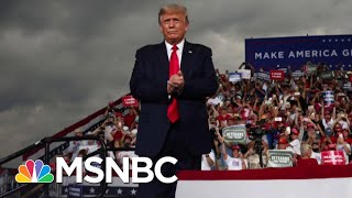 Trump Hits Biden And Mocks Social Distancing At Packed Rally | The 11th Hour | MSNBC