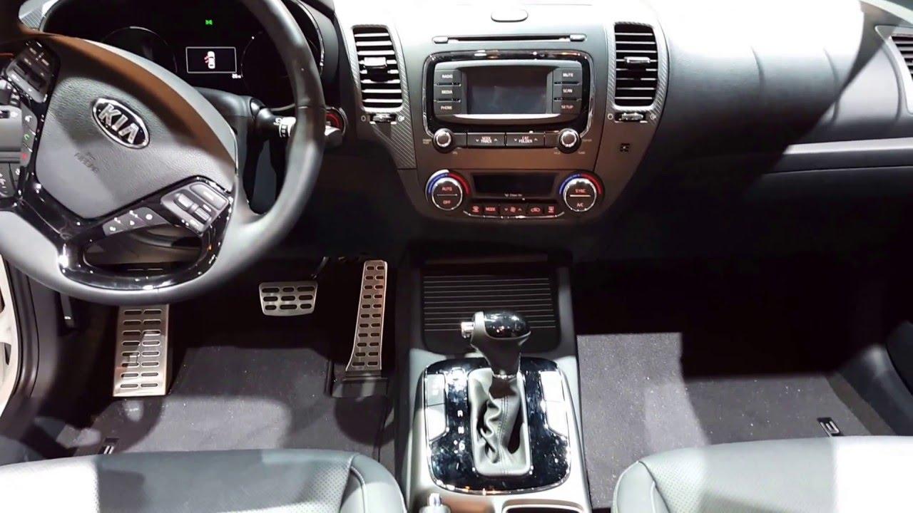 2017 Kia Forte 5 EX Interior Walkaround Price Site Kia Cars   YouTube