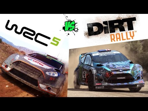 Dirt Rally VS WRC 5 HD