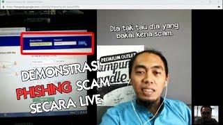 Hypoxia ScamBuster: Live Demo Membongkar Teknik Scam PHISHING Hack