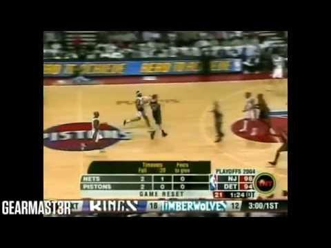 Chauncey Billups - 31 pts, 10 reb, 8 asts vs Nets Full Highlights (2004 ECSF GM5) (2004.05.14)
