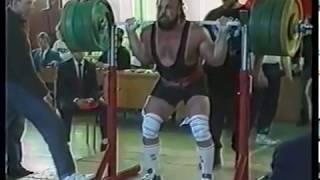 1992 Powerlifting Cup Russia Squat Россия Силовое троеборье приседания