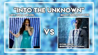 Into The Unknown Idina Menzel vs Brendon Urie Video