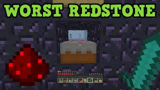 Minecraft 5 WORST Redstone Creations