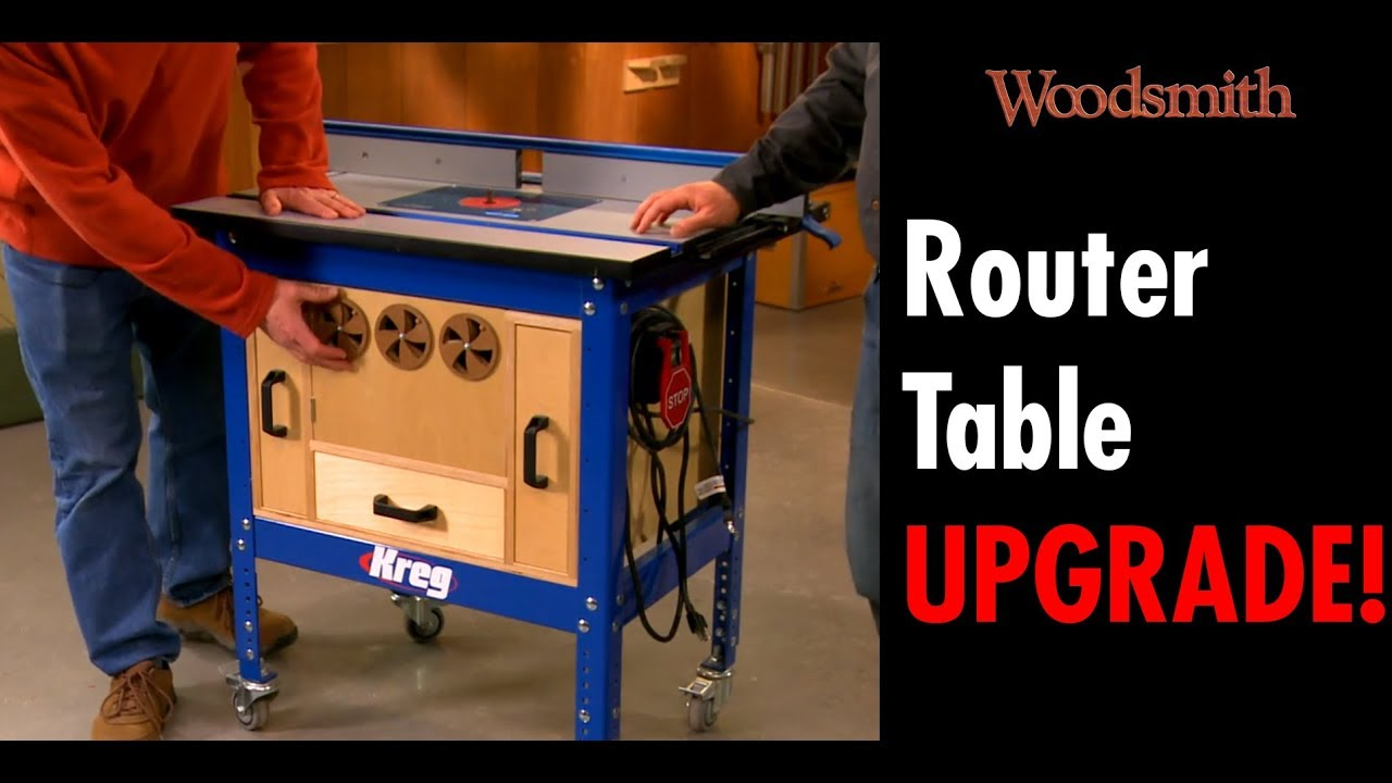 Designer S Notebook Router Table Dust Collection Upgrade