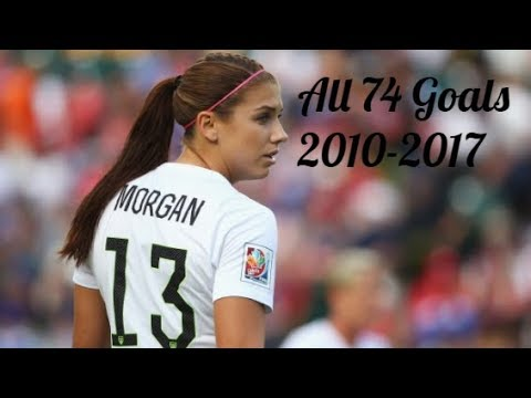 All 74 Goals for the USWNT ● Alex Morgan ● 2010-2017