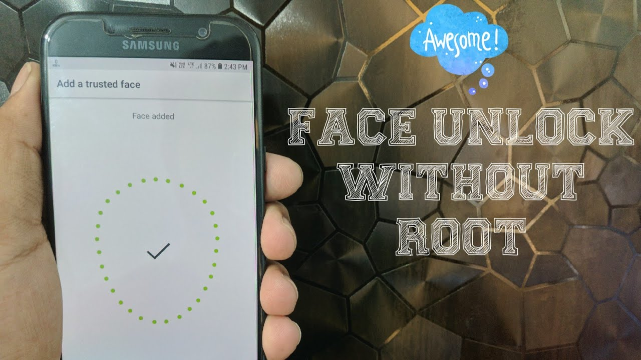 How to get face unlock in any samsung device without root