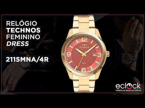 791f7d9d1d5e5 Relógio Technos Feminino Dress 2115MNA 4R - Eclock - Eclock Relógios -  imclips.net