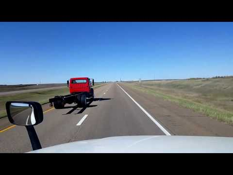 BigRigTravels LIVE! Ellis, Kansas to Limon, Colorado Interstate 70 West-Oct. 11, 2017