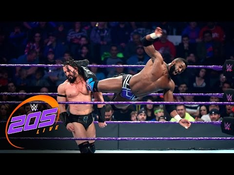 Cedric Alexander vs. Neville: WWE 205 Live, Jan. 24, 2017